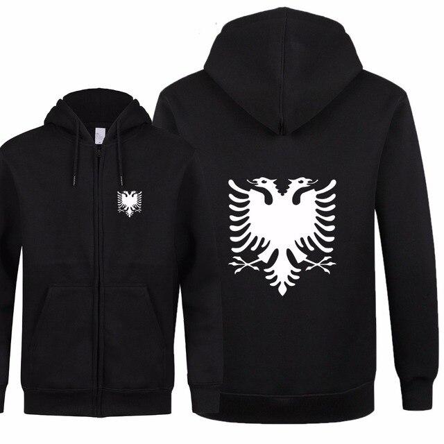 אלבניה אופנה חדשה גברים נשים סתיו חולצות נים צמר רוכסן מעיל & Jacket Slim Fit גברים Streetwear באיכות גבוהה XS 2XL