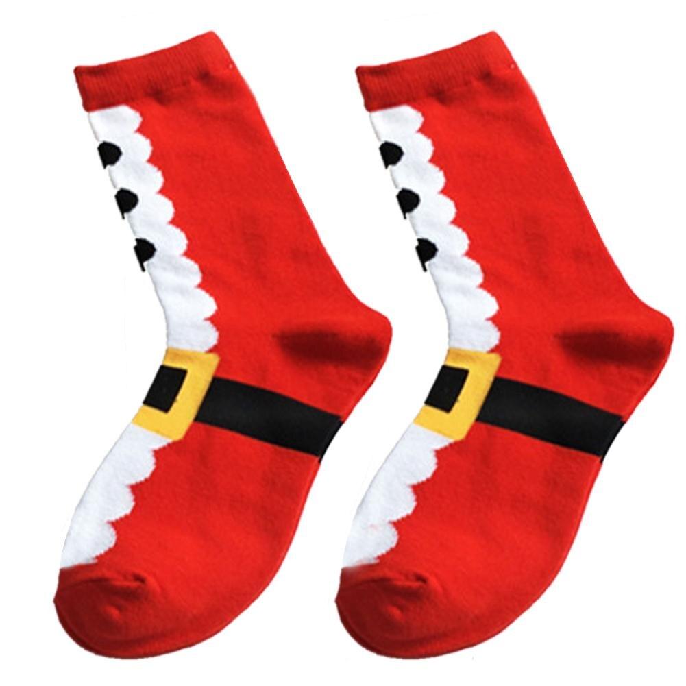 Christmas Series Cotton Gift Bag Cartoon Women's Stockings