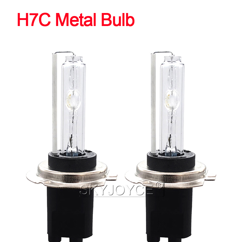 Xenon Hid H7 h7r Ac 35w bombillas 4300 5000 6000 8000 K Metal Base