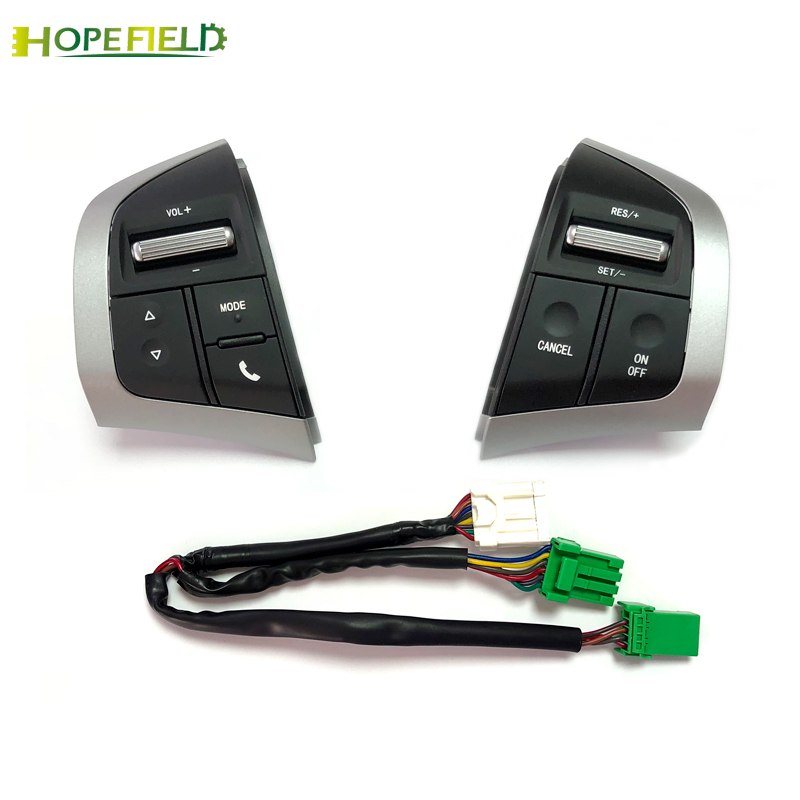 Bouton de volant de voiture interrupteur de régulateur de vitesse médias Audio bouton multifonction pour Isuzu d-max DMAX pour Chevrolet Dmax d-max