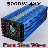 5000W Off Grid Inverter Pure Sine Wave Inverter 48V DC Input Solar Wind Power Inverter