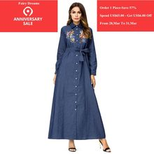 6eb6cb3a87e Popular Denim Robe-Buy Cheap Denim Robe lots from China Denim Robe  suppliers on Aliexpress.com