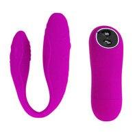 Pretty Love 30 Speed Silicone Wireless Remote Control Double Vibration G Vibrator Vibe Adult Sex Toys