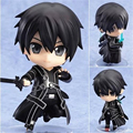 [PCMOS] 2017 New Anime Sword Art Online Kirito Nendoroid #295 PVC Figure NO Box Free Shipping  5241-L