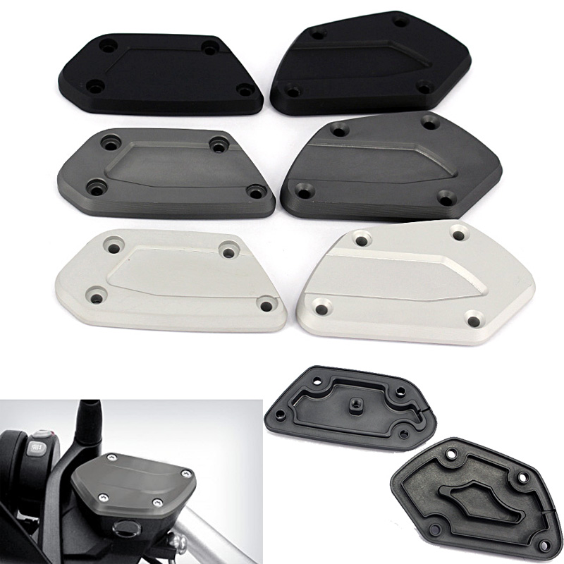 For BMW R Nine T R1200 GS LC 2013 2014-2016 R1200 R RS 2015-2016 Front Brake Clutch Reservoir Cover Caps R1200GS R1200R R1200RS kemimoto for bmw motorcycle front brake caliper cover protection cover guard for bmw r nine t 2014 2017 r1200gs lc 2013 2015