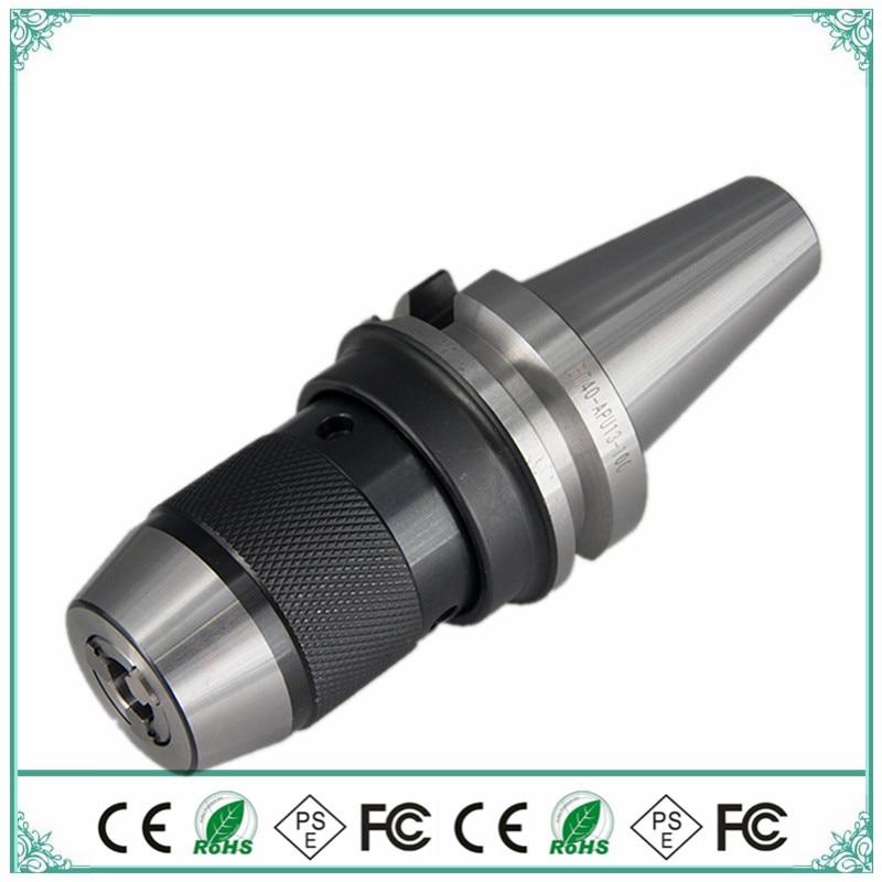 Spindle BT40 APU16 APU13 High Precision 1-16mm Drill Chuck Standard Self-locking,Self-tightening Drill Chuck CNC Machine Tool
