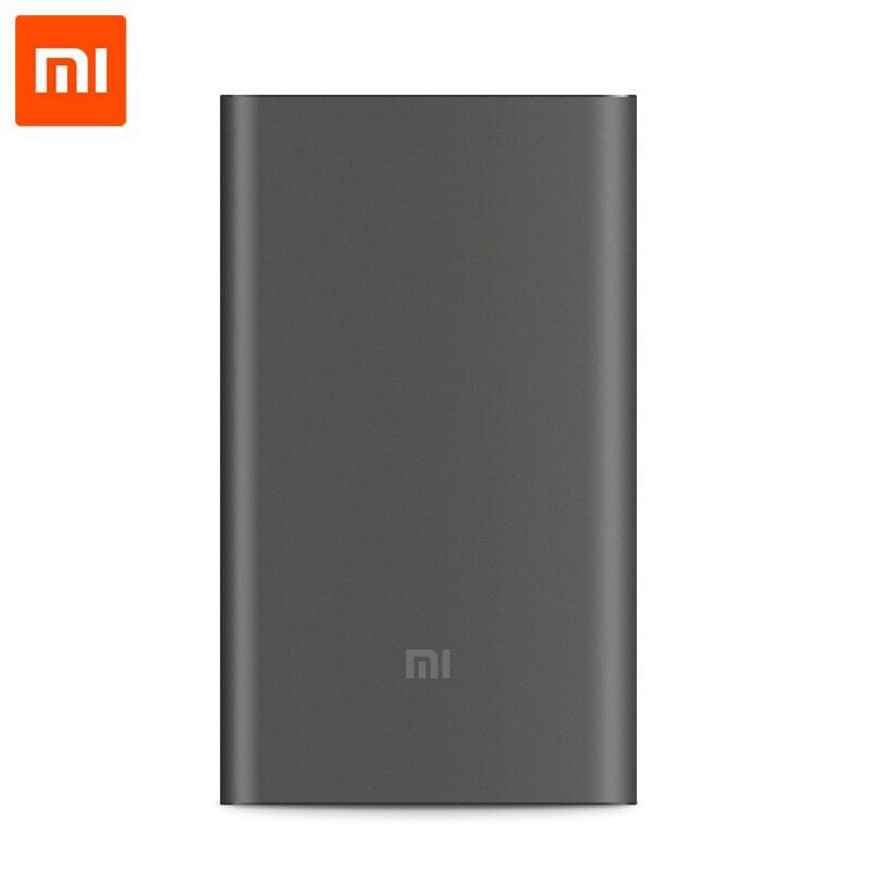 Цена за Оригинал Xiaomi 10000 mAh Pro Power Bank Ультра Тонкий 18 Вт Быстрое Зарядное Устройство QC2.0 (12 В 1.5A/9 В 2A/5 В 2A) поддержка Type-C