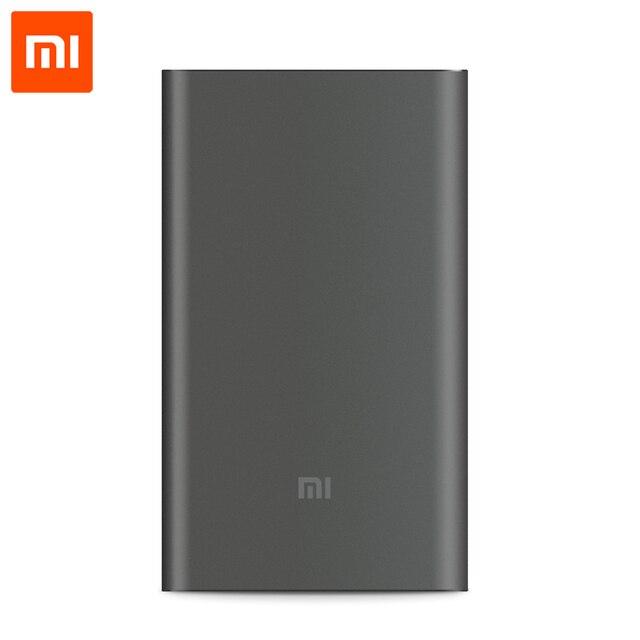 Оригинал Xiaomi 10000 mAh Pro Power Bank Ультра Тонкий 18 Вт Быстрое Зарядное Устройство QC2.0 (12 В 1.5A/9 В 2A/5 В 2A) поддержка Type-C