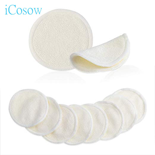 iCosow 1 Pcs Make Up Cotton Pads Wipe Pads Nail Art Polish Cleaning Pads Facial Cosmetic Cotton Makeup Remover Clean Tool in Toiletry Kits from Beauty Health