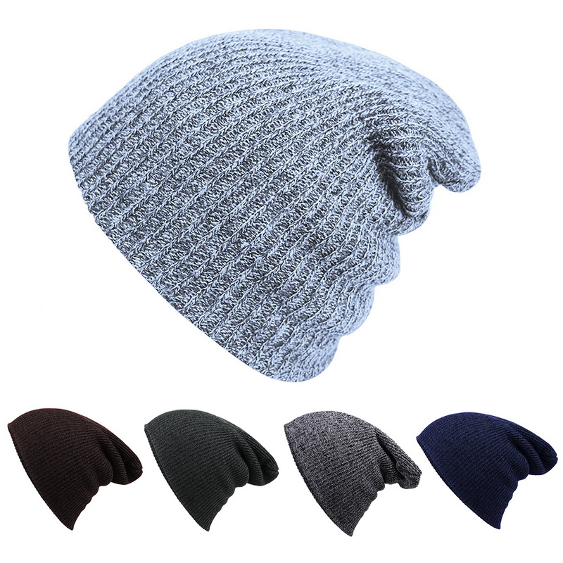 Puimentiua Winter Unisex Comfortbale Soft Slouchy Beanie Collection Baggy Various Styles Hat 2019 new