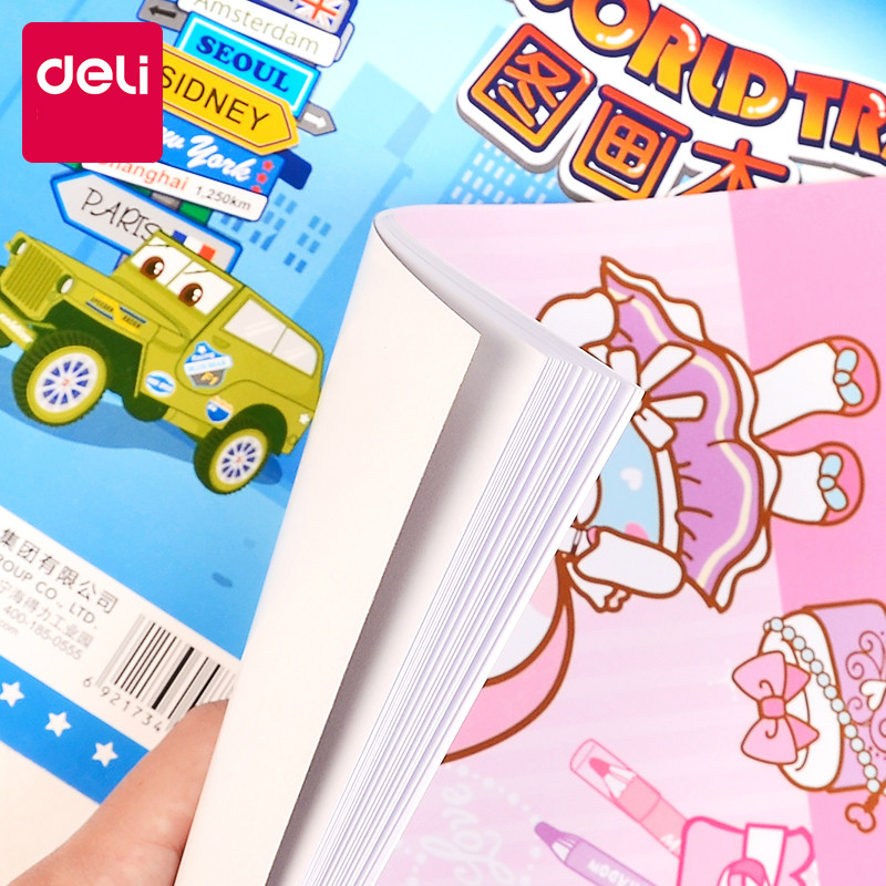 deli papel pintura a4 criancas desenho livro 01