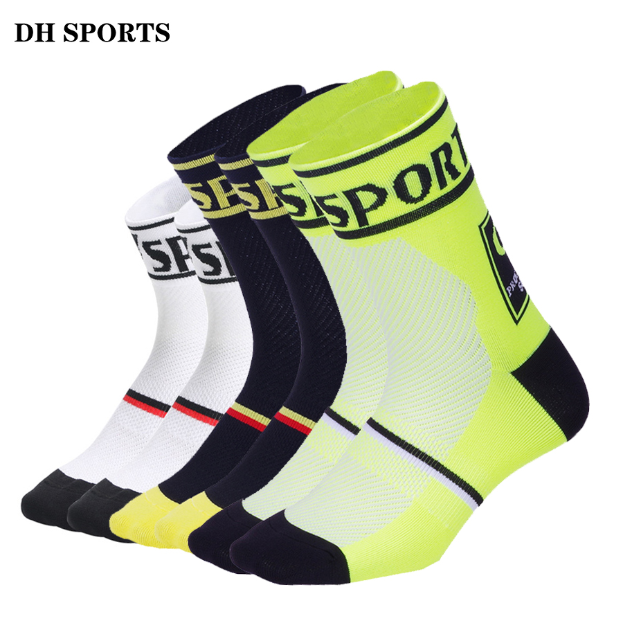Cycling Socks Mens Women/'s Bike Riding Mountain Road Hiking Sports Socks