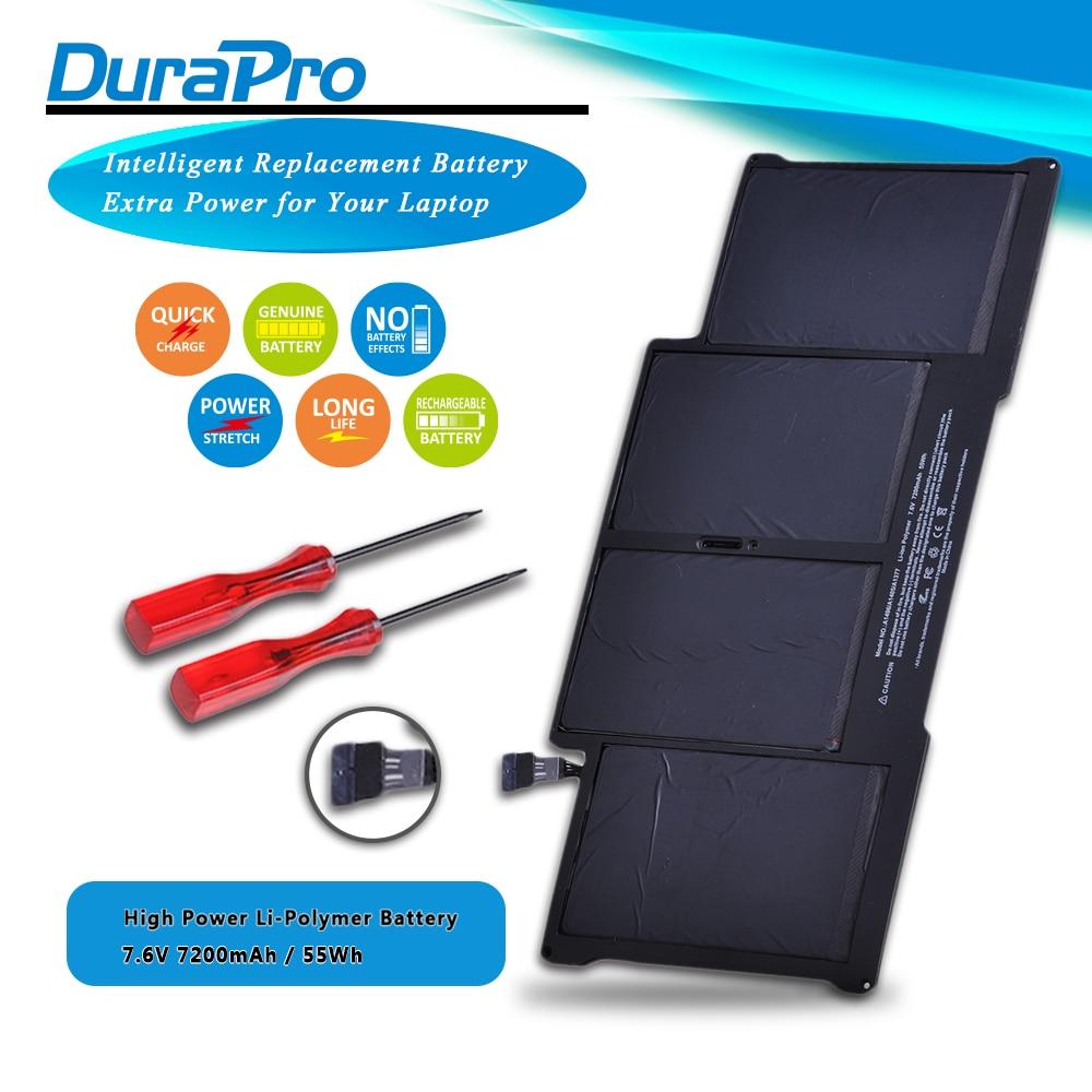 Аккумулятор для ноутбука A1405, A1496, 7200 мА/ч, 7,6 В, 50 Вт/ч, для Apple MacBook Air 13 дюймов, A1369, 2011, A1466, 2012, MC503, MC503, MC965, MC966, 020-7379-A