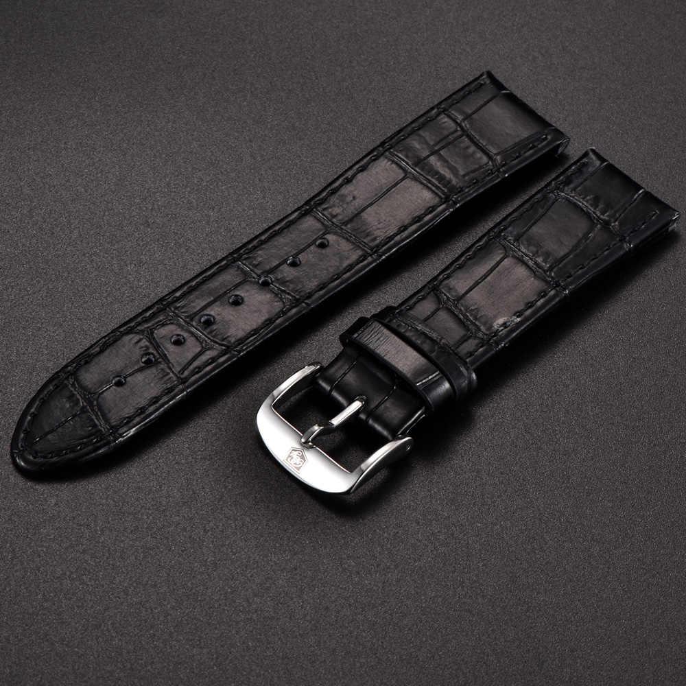 מקורי BENYAR Watchbands עור רצועת עבור BY-5102M שעון להקת רוחב 22mm עבור BY-5104M
