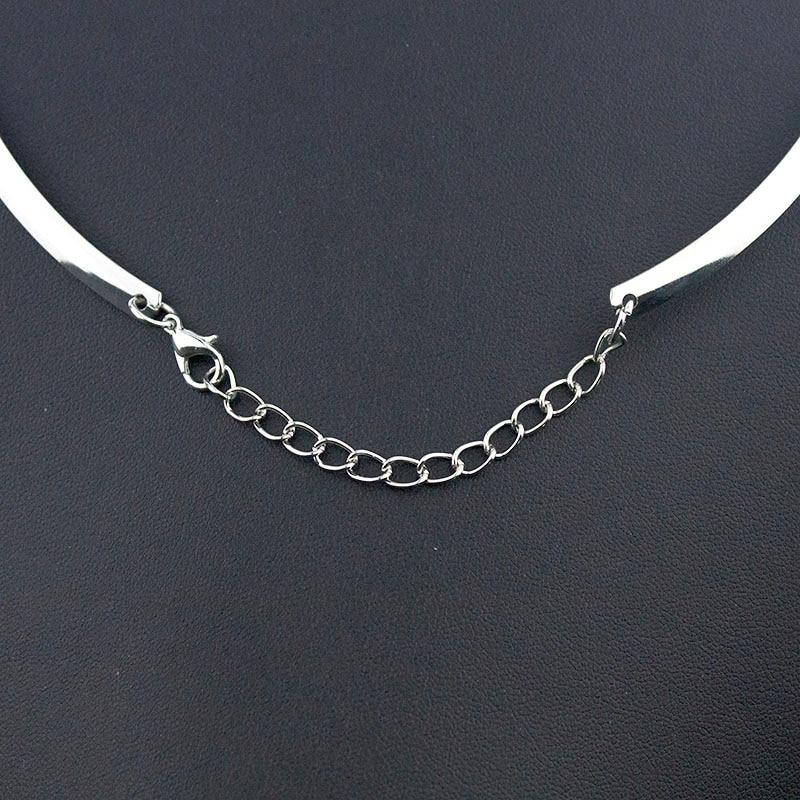Snap Jewelry Women's classic torques 18mm snap button necklace boho bohemian necklaces & pendants Unisex DIY Jewelry