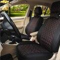 2 asiento delantero Universal Fundas de Asiento de Coche Para Chevrolet Cruze AVEO vela TRAX Epica Malibu CAPTIVA Camaro NEGRO/GRIS accesorios del coche