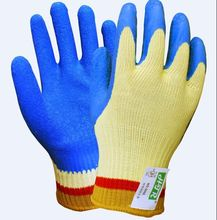 Latex Working Gloves Cut Resistant Aramid Fiber Glove 100% Aramid Fiber Latex Coated Cut Resistant Work Glove nmsafety better grip ultra thin knit latex dip nylon red latex coated work gloves luvas