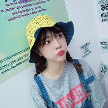 4bc30f83829 Causey 2018 Harajuku Bucket Hats Embroidery Emoji Summer hat Fisherman Sun  Visor for Outdoor Women men