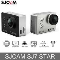 100% Оригинальные SJCAM SJ7 STAR экшен камера Wi Fi 4 К 2 ''Сенсорный экран Ambarella A12S75 30 м подводный Водонепроницаемый Спорт экшин мини камера