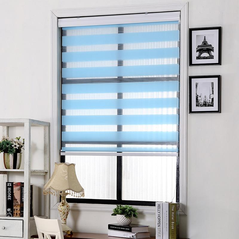al de polister persianas persianas cebra las cortinas en blanco translcido ventana cortina