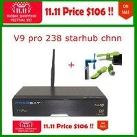 11.11発売中最も安定したスターハブケーブルボックス238スターハブチャンネルfreesat v9プロシンガポールスターハブtvボックス