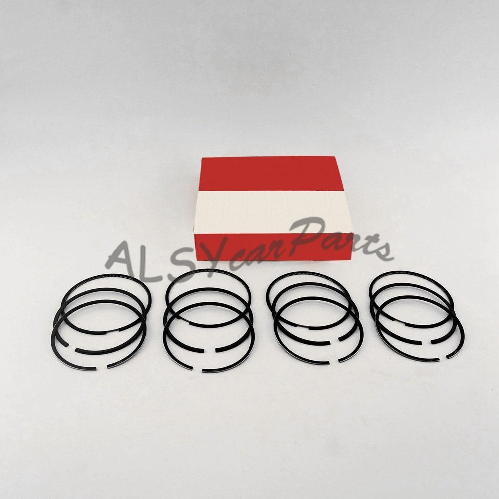 KEOGHS OEM Engine Piston Rings 81mm STD Fit PASSAT JETTA GOLF Beetle Audi  A3 A4 A6 TT 1.8/ 1.8T 20V 06B 198 151 B 058 198 151 B-in Pistons, Rings, ...