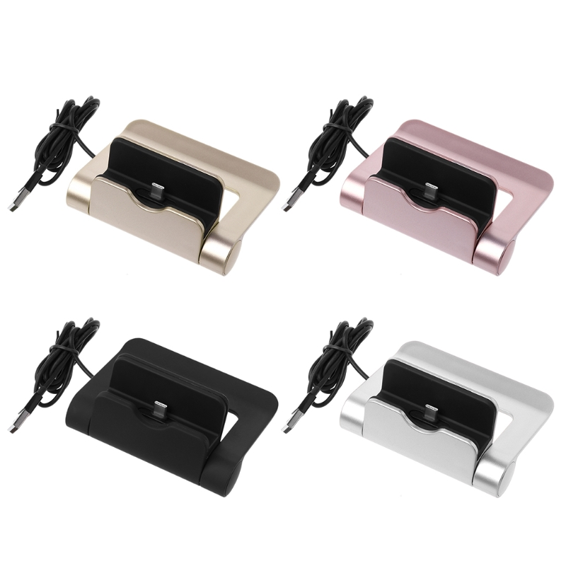 360 Rotating Fold Type C Charger Dock For Huawei P20 Mate10 OnePlus 6/5T Xiaomi8