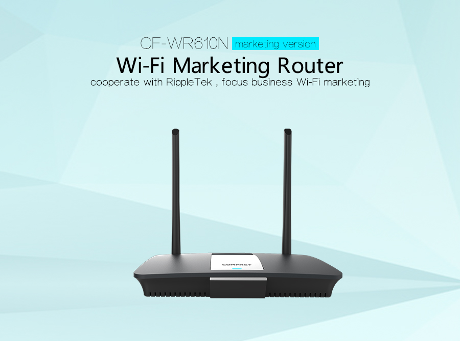 Comfast CF-WR610N 300Mbps wireless wi fi routers with 14dBi Antenna controller & wireless router mode chipset QCA9531