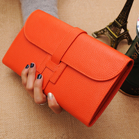 Fashion Women Wallets and Purses High Quality Large Capacity Ladies Purse Cow Leather Luxury Wallet Women Bag Designer Money Bag