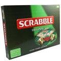 Оригинальная Настольная игра Scrabble Английский кроссворд, игры Орфографии