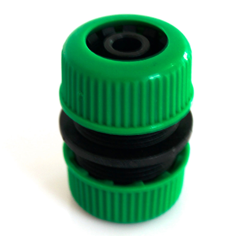 Top 1/2 Garden Water Hose Connector Pipe Quick Connectors Joining Mender Repair Leaking Joiner Connector Adapter