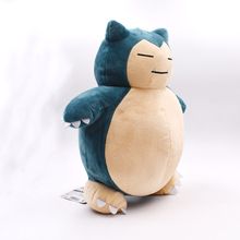 "Free Shipping 1Pcs 12inch""30cm Toy Snorlax Plush Anime New Rare Soft Stuffed Animal Doll For Christmas Gift Valentine's Day"