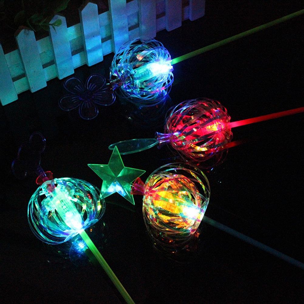 Leadingstar 20 шт. красочные пузырь цветок световой Волшебная палочка Рождество взрослых Детская вечеринка украшения