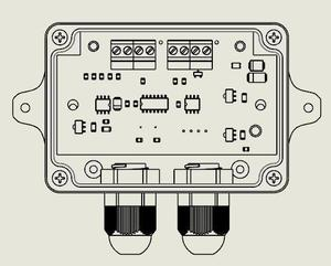 Image 2 - 1PCSX wägezelle/Dms Verstärker RW ST01D, RS485 ,485 /RS232 232 AUSGANG gewicht verstärker
