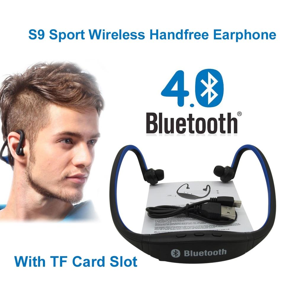 S9 Trådløse Bluetooth Hovedtelefoner 4.0 Sport Trådløs Håndfri - Bærbar lyd og video - Foto 2