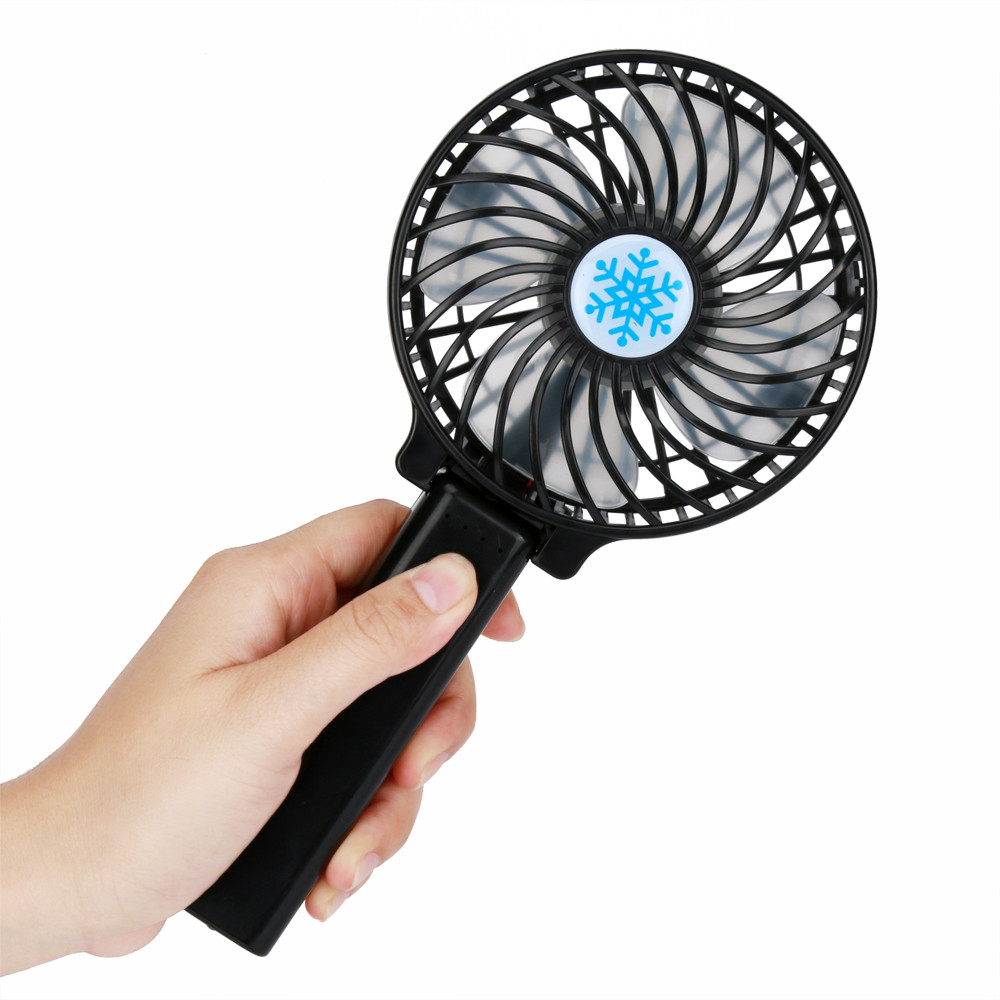 Well-Educated Hiinst Creative Summer Portable Rechargeable Fan Air Cooler Mini Operated Hand Held Usb Fan Gift Toy Dropship Cc# Gags & Practical Jokes