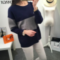 YiZiKKCO Brand Woman Sweaters Pullovers 2016 New Autumn Winter Knitted Sweater Womens Pullover Pull Femme Sweter Mujer WHD165
