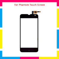 5Pcs/lot high quality Touch Screen Digitizer Sensor Outer Glass Lens Panel For Explay Phantom + Tracking code