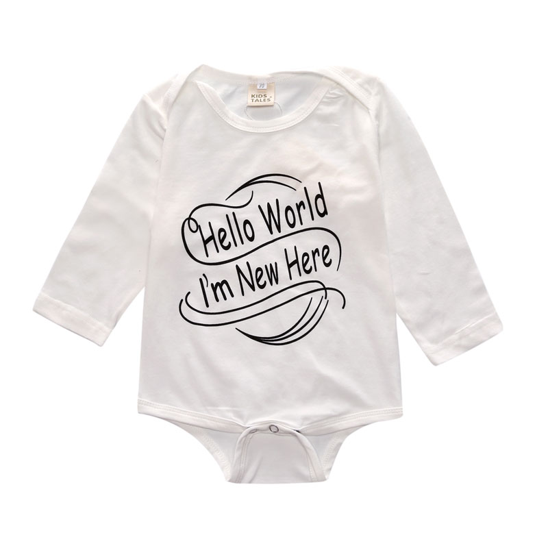 8de846c79d7 New 4Pcs Cute Baby Girl Clothes New Born Gift Long Sleeve Romper Sets  Christmas Outfit Infant Suit Newborn Baby Girl Clothes-in Clothing Sets  from Mother ...