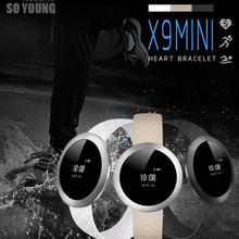Bluetooth 4.0 Gravity Acceleration Sensor Smart Watch Long Working Time X9 Mini Bluetooth Smart Watch Health Wrist Bracelet