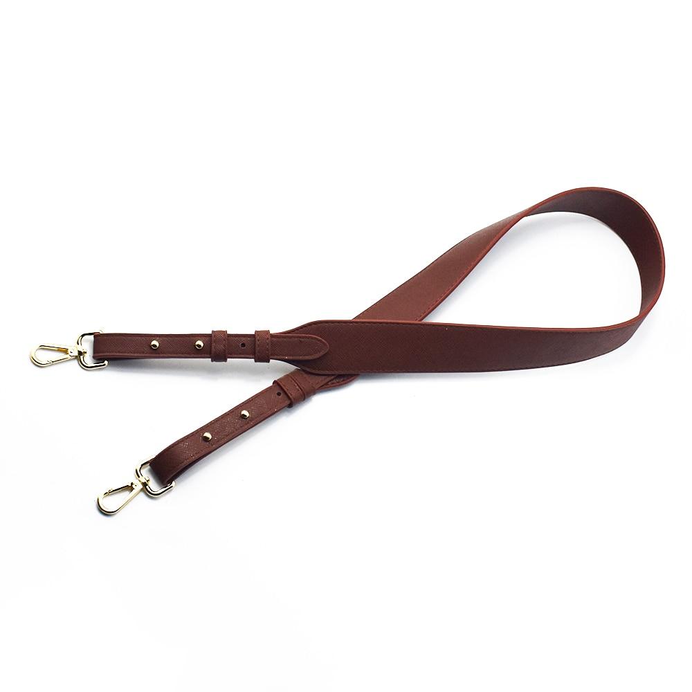 96cm Bag Strap Handbag Straps Replacement Parts Bag Belts Leather DIY Handmade Gray Handles for Women Shoulder Bags Accessories