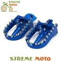 CNC Pé Pegs Pedais Repousa Para Husaberg TE125 250 FE350 450 501 550 600 400 600 FX450 FC350 FS650 Motocross Enduro Dirt bicicleta