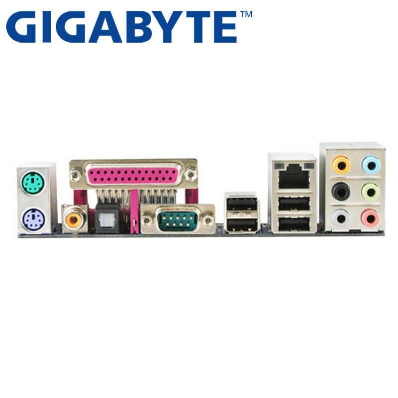 جيجابايت GA-EP31-DS3LP سطح اللوحة P31 المقبس LGA 775 ل Core2 المتطرفة رباعية ديو بنتيوم D/4 سيليرون DDR2 4G تستخدم G31
