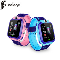 Funelego 2019 Smartwatch Kids IP68 Phone GPS Watch for Child SOS Call Location Setracker For Apple iPhone Android Smart Watch