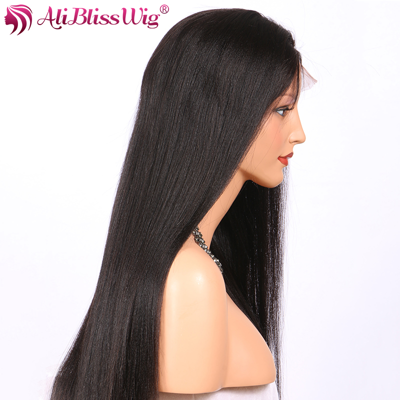 Best Selling Natural Looking Light Yaki Straight Full Lace
