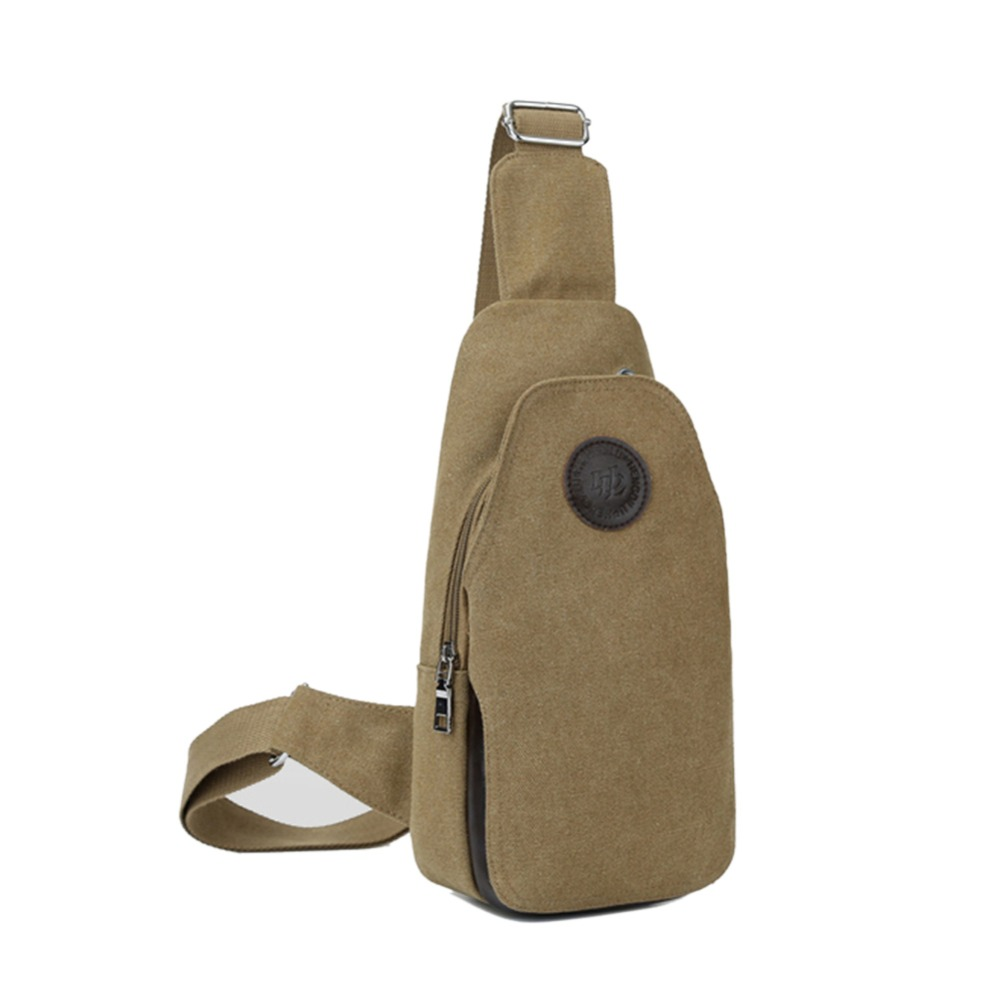 2016 Casual Chest Bag Pack Vintage Men Messenger Bags Military Canvas Man Crossbody Bags for Outdoor Travel Hiking Sport fashion casual canvas leather patchwork men s bags durable travel messenger bags crossbody chest pack bag