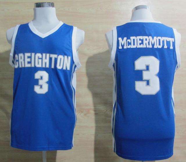 76da0d2f3b2 Creighton Bluejays  3 Doug McDermott Jersey