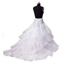 Tulle Underskirt Crinoline Wedding-Petticoat Train Bridal with Elegant