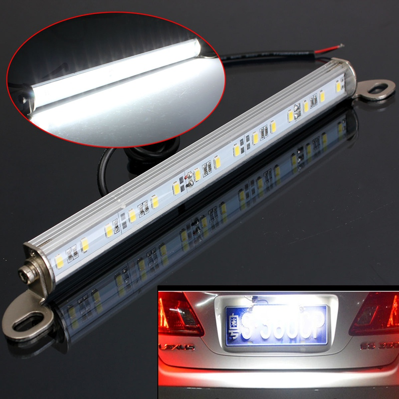 Universal 15 SMD White Car LED License Plate Light Bolt On Car Reverse Backup Lamp Light For Truck Trailer motorcycle tail tidy fender eliminator registration license plate holder bracket led light for ducati panigale 899 free shipping