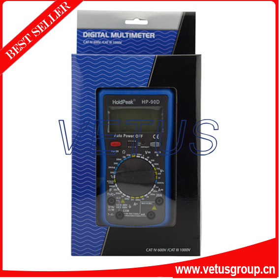 ФОТО HP-90D digital multimeter with current tester and multimeter probes